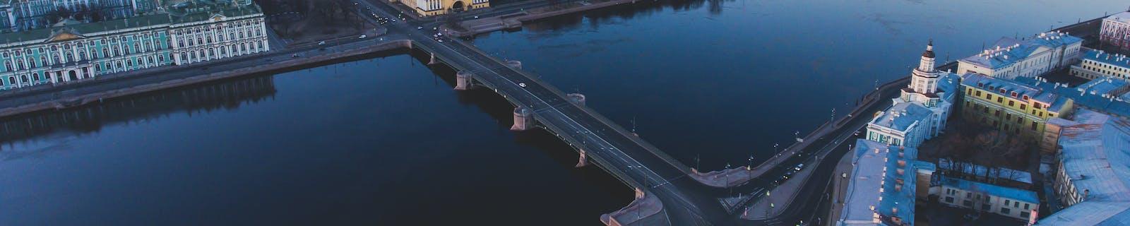 Cityscape of Saint-Petersburg City