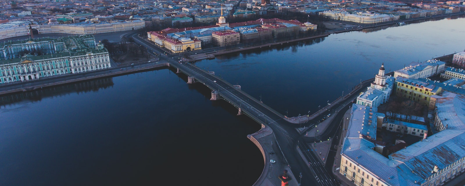 Cityscape of Saint-Petersburg City