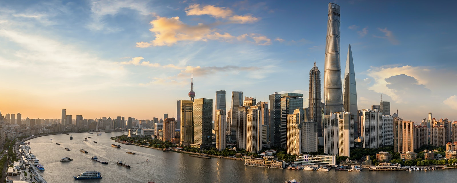 Cityscape of Shanghai City