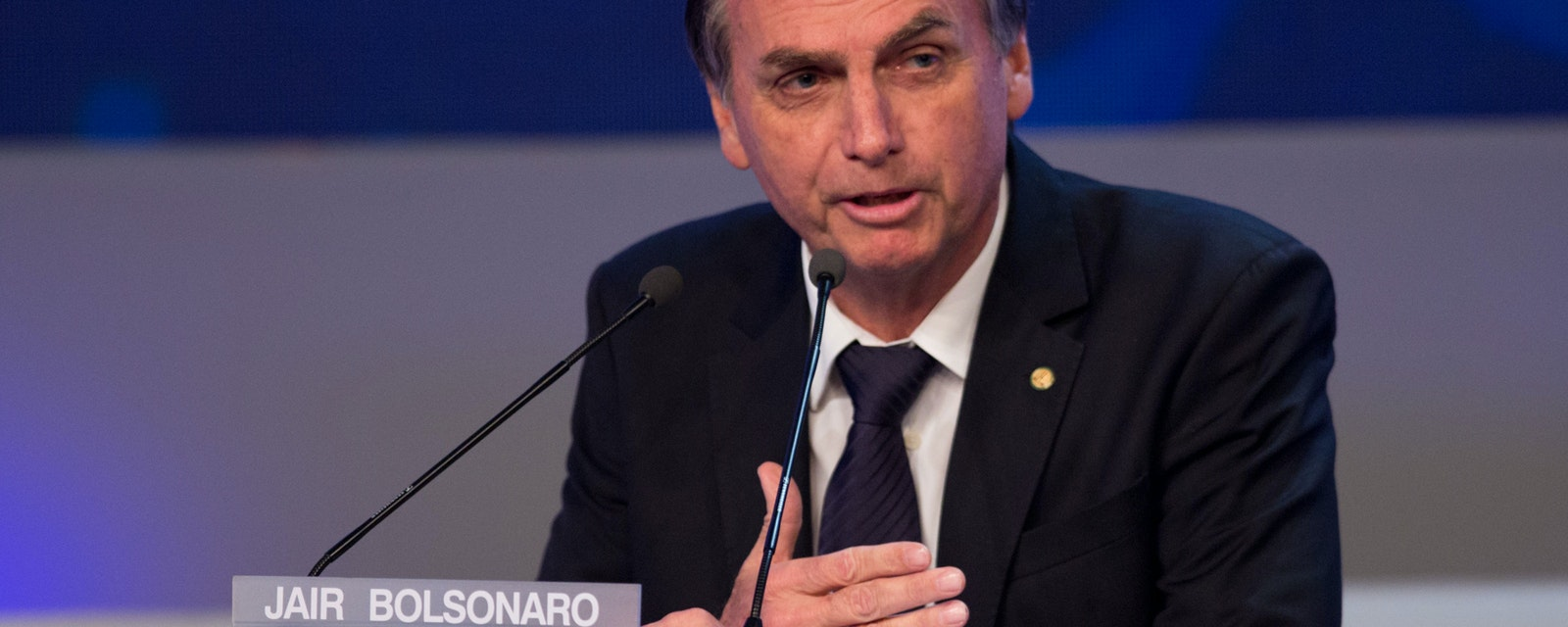 Portrait of Jair Bolsonaro