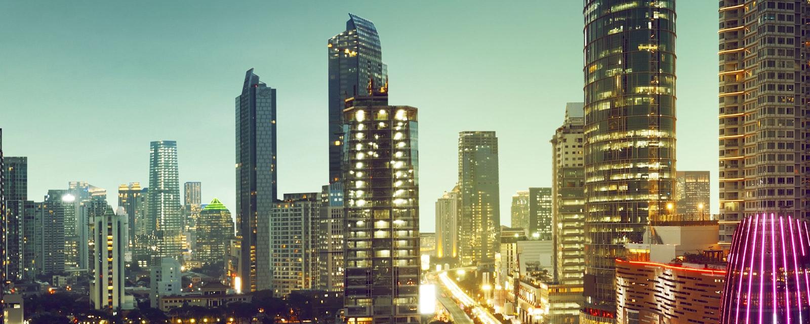 Cityspe of Jakarta City