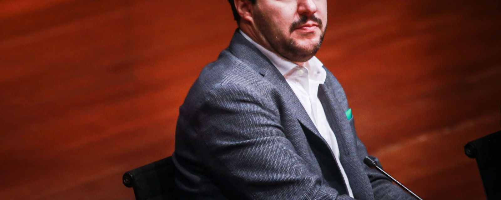 Portrait of Matteo Salvini