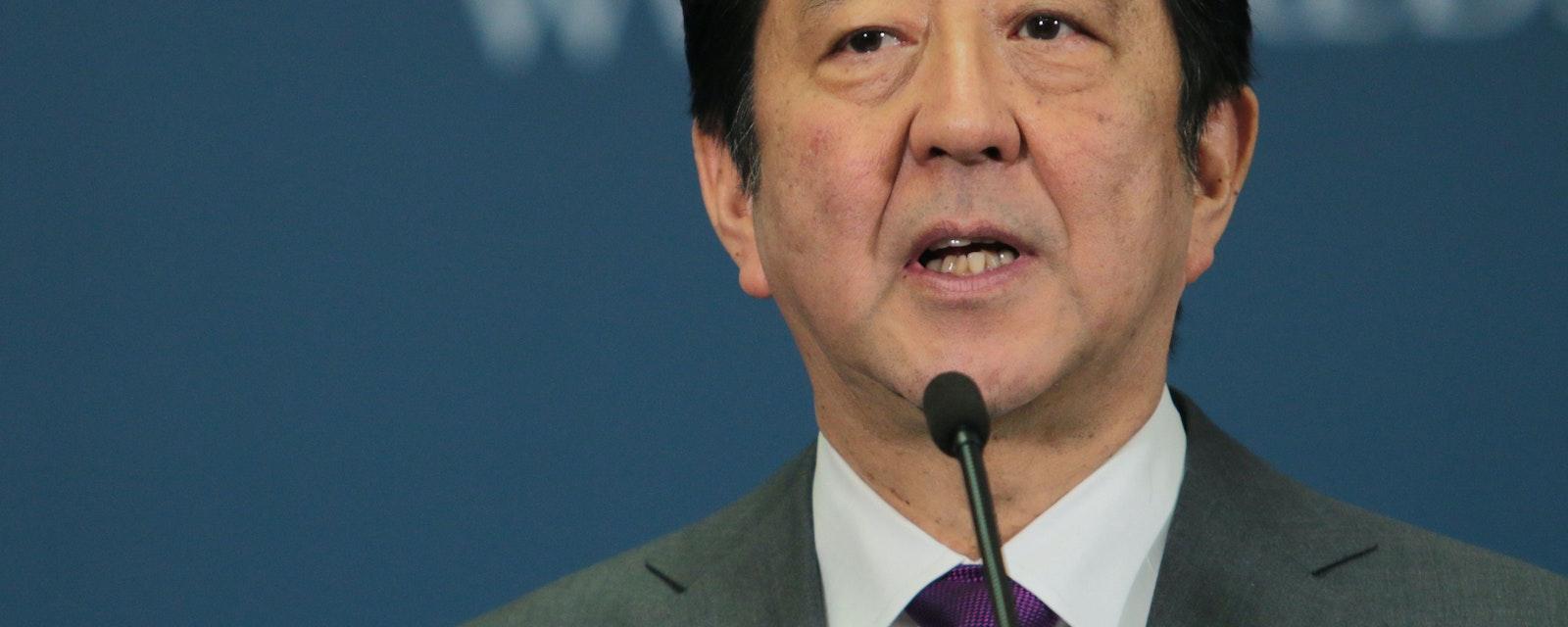 Portrait of Shinzo Abe