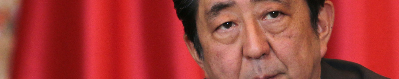 Portrait of Shinzo Abe