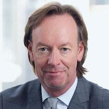 Portrait of John Crean