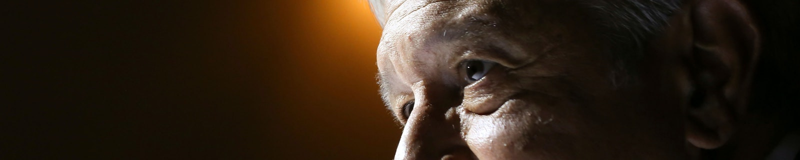 Portrait of Andrés Manuel López Obrador