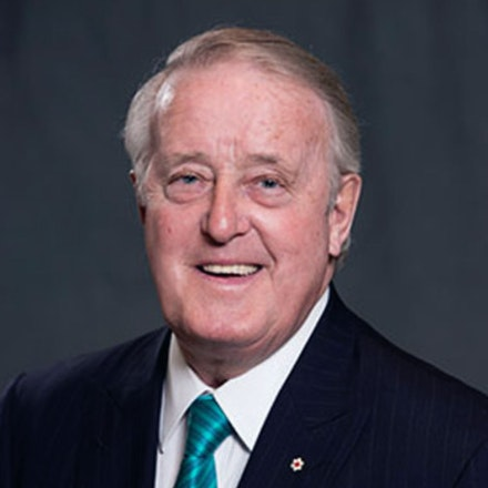 Portrait of The Right Honourable Brian Mulroney, P.C.