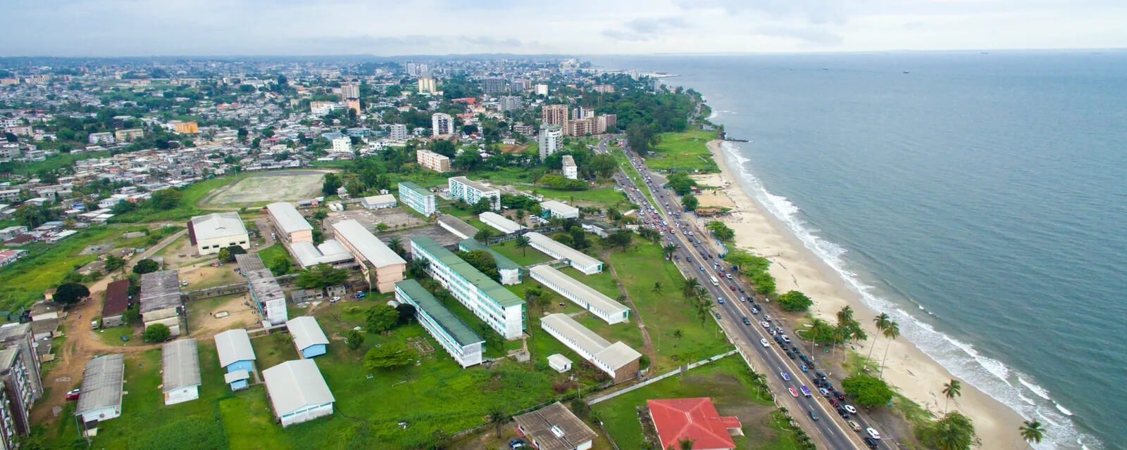 Cityscape of Libreville City