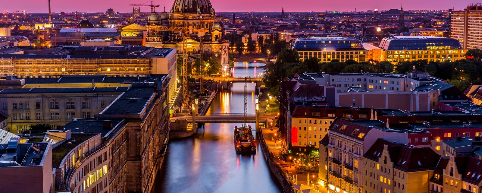 Panoromic,Aerial,View,Of,Berlin,Skyline,With,Famous,Tv,Tower