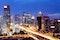 Beijing,After,Sunset-night,Scene,Of,Cbd