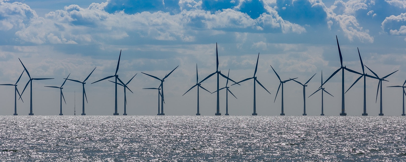 Windmills,In,The,Sea.,Wind,Power.,Green,Energy