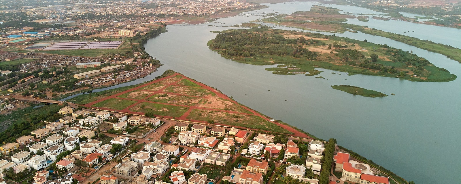 Bamako,Is,The,Capital,And,Largest,City,Of,Mali,,With