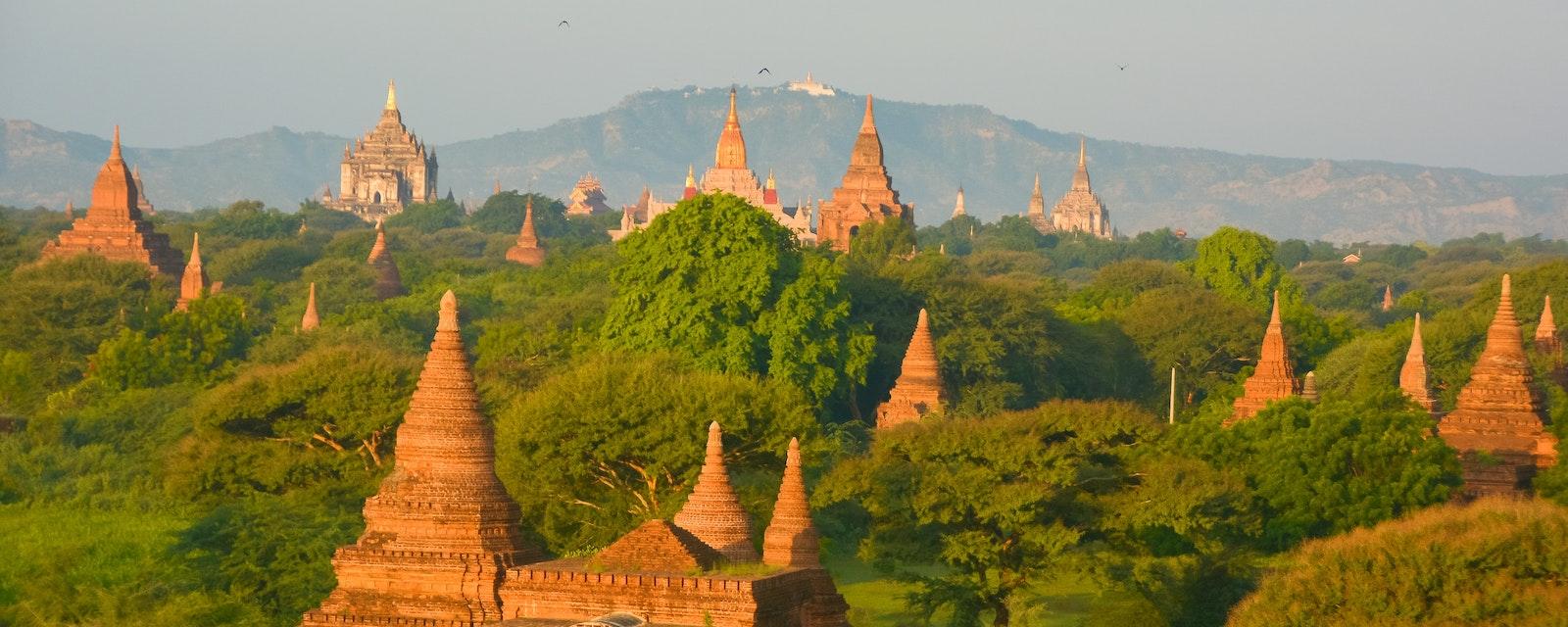 The,Temples,Of,Bagan,,Mandalay,,Myanmar.