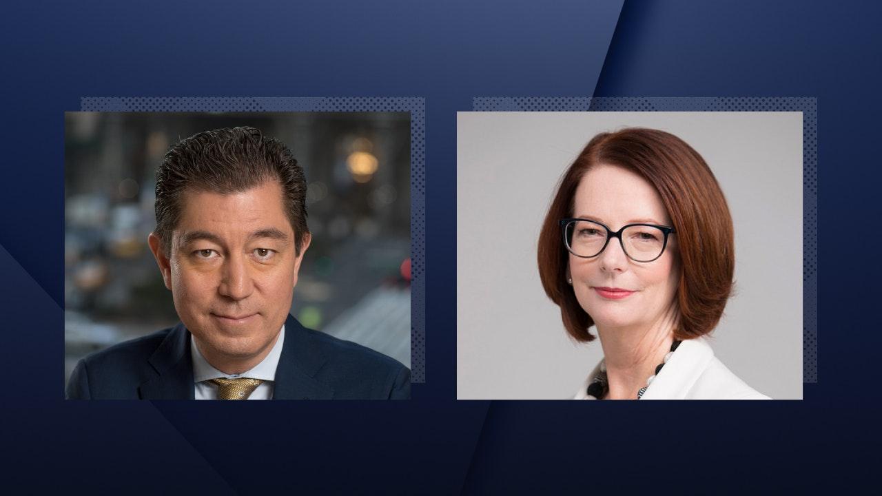 Julia Gillard, the 27th Prime Minister of Australia, joins Kevin Kajiwara, Co-President of Political Risk Advisory, on the Teneo Insights Webinar Series