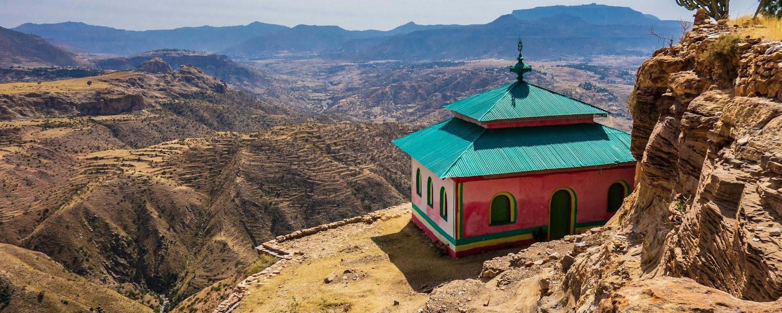 Debre,Damo,Monastery,In,Tigray,Region,,Ethiopia.