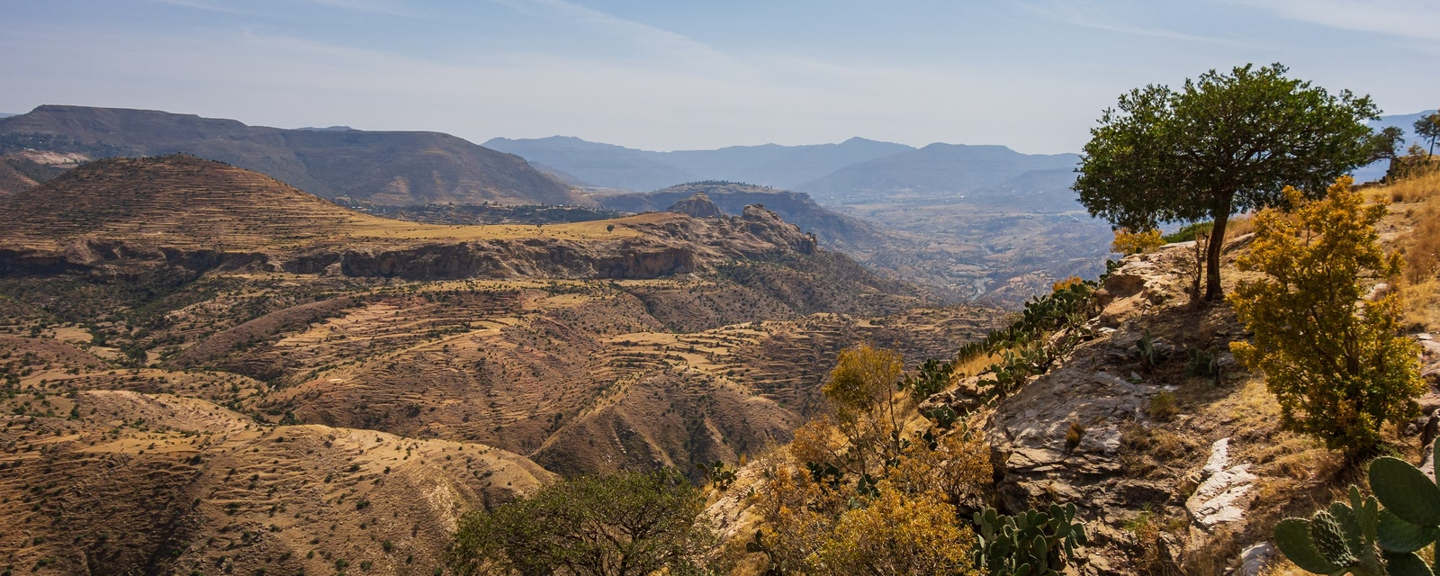 View,From,Debre,Damo,Montain,In,Tigray,Region,,Ethiopia.