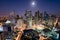Makati,Skyline,At,Night.,Makati,Is,A,City,In,The