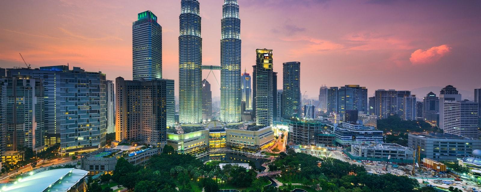 Kuala,Lumpur,,Malaysia,City,Skyline.
