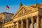 Close-up,View,Of,Famous,Reichstag,Building,,Seat,Of,The,German